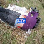 Maniatado de pies y manos con bolsa en la cabeza dejan el cuerpo de un masculino en Villa del Carbón