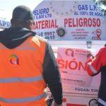 Suspenden pipas de gas por no cumplir con medidas de seguridad, en Atizapán