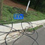 Gracias a guardias comunitarias han dejado de robar cable telefónico en San Juan de las Tablas