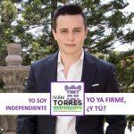 Diferentes obstáculos obligan a Iván Torres a renunciar a ser candidato independiente